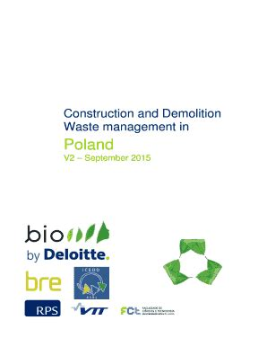 Literature review on construction and demolition waste